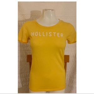 New Yellow Hollister Top